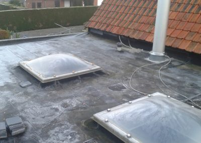 Dakwerken Depraetere vernieuwen plat dak