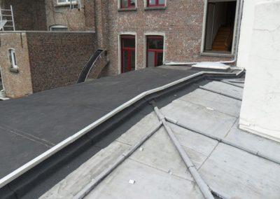 Plat dak renovatie - zink