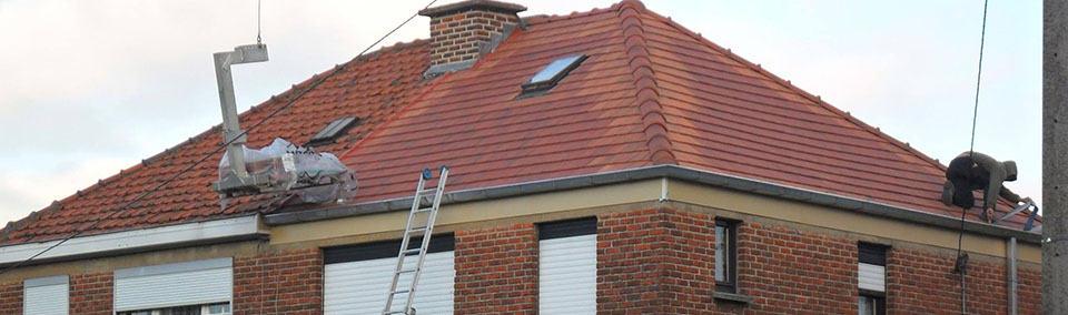 Vernieuwen dakgoten West-Vlaanderen
