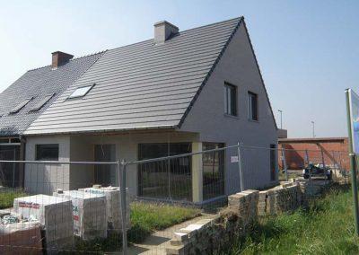 Dakrenovatie met zwarte Eternit Palace pan - West-Vlaanderen