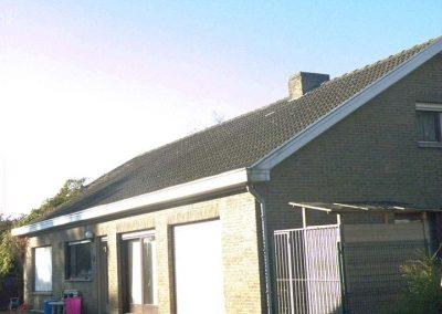 Dakrenovatie - dakwerker West-Vlaanderen - voor de werken