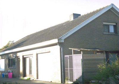 Renoveren dak woning - voor de werken