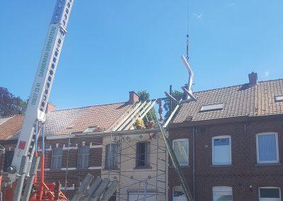Dakwerken Kortrijk - nieuw kapgebinte